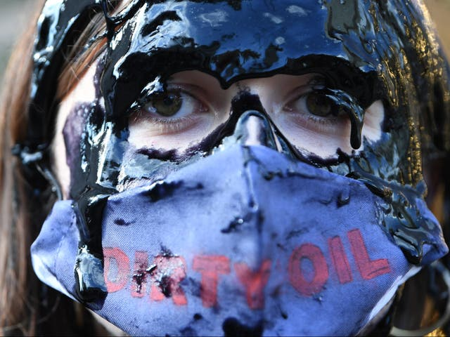 <p>Extinction Rebellion are carrying out two weeks of protests in central London</p>