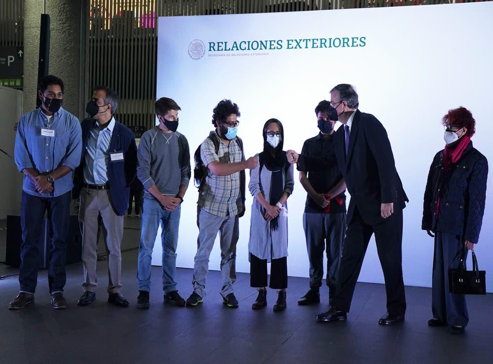 MEXICO-AFGANISTÁN REFUGIO