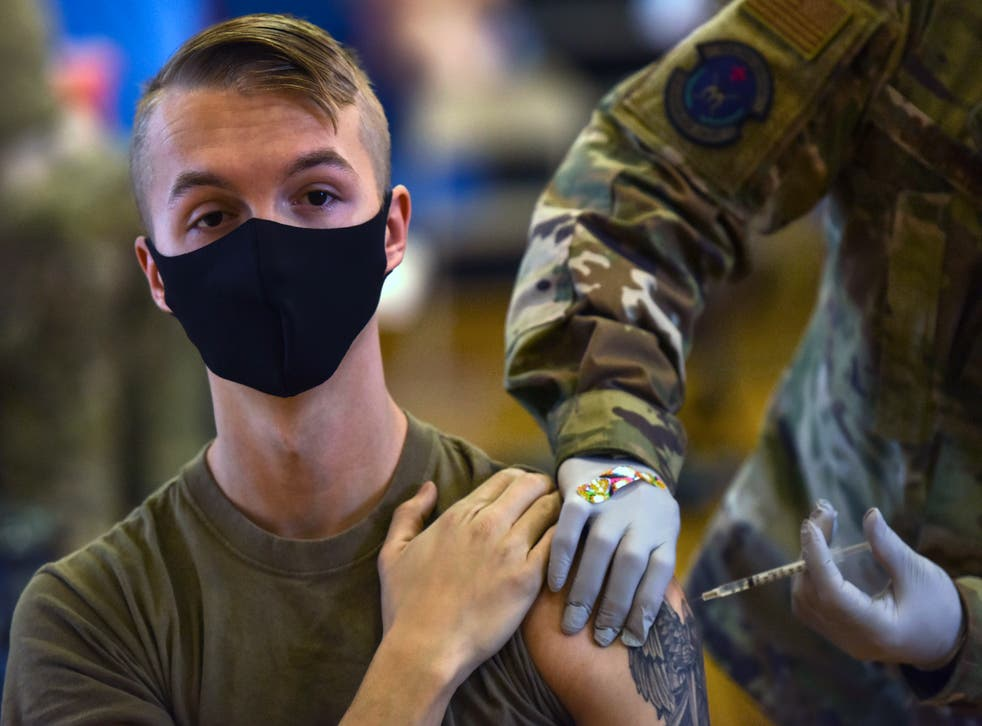 Virus Outbreak Military Vaccines