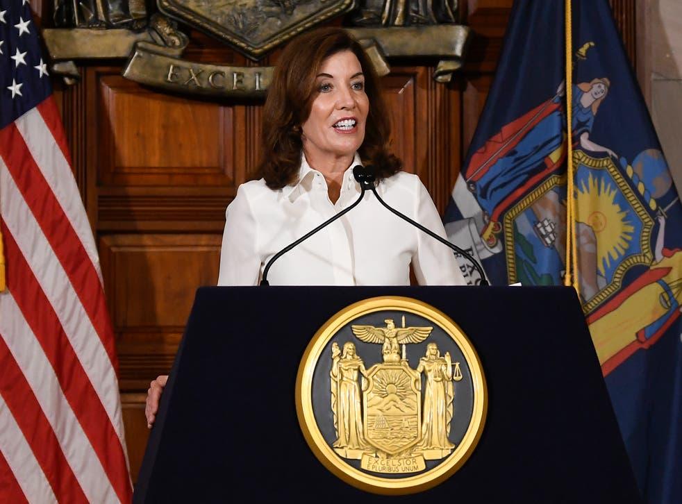 APTOPIX New York Governor