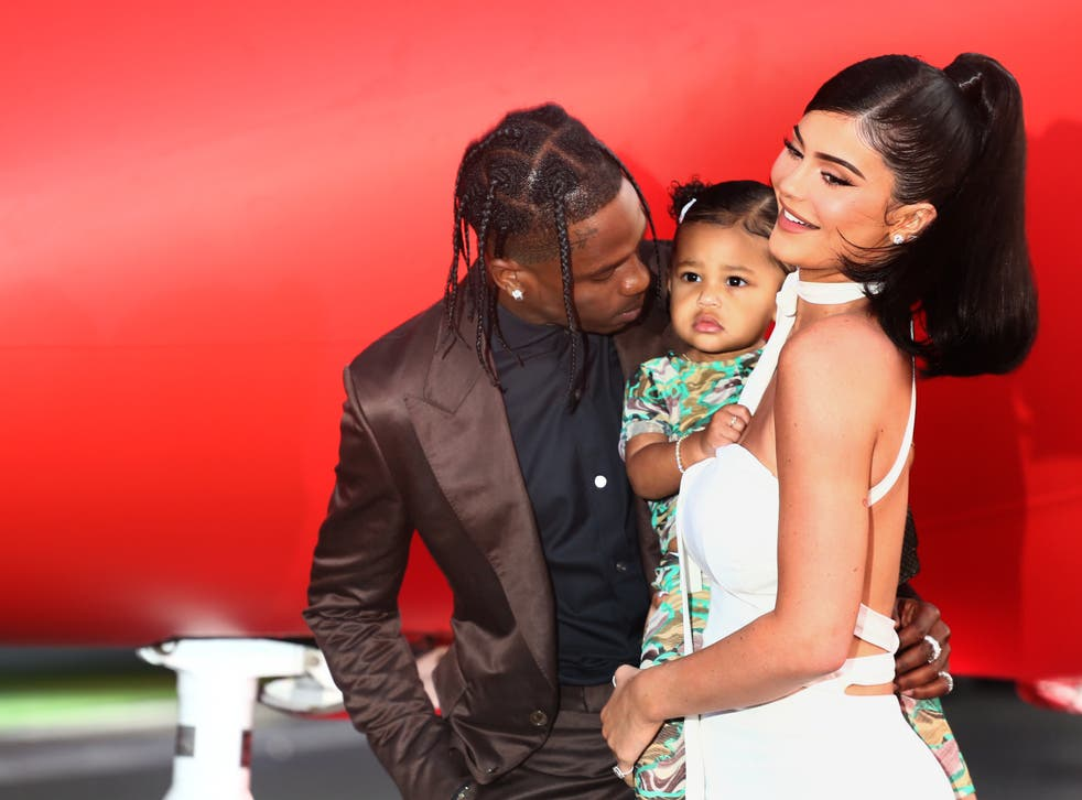 <p>Kylie Jenner and Travis Scott spark mixed reactions after surprising Stormi with school bus</p>