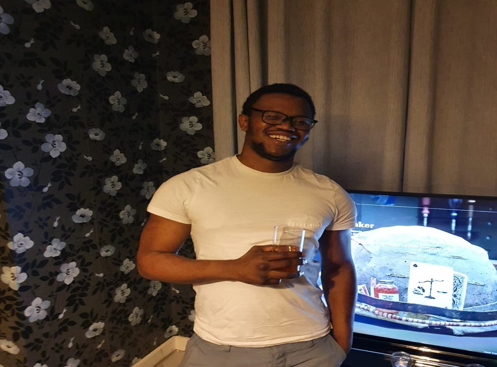 <p>Bruce Mpofu, 29, is facing deportation on the basis of a crime he committed in 2010. He has not reoffended since </p>