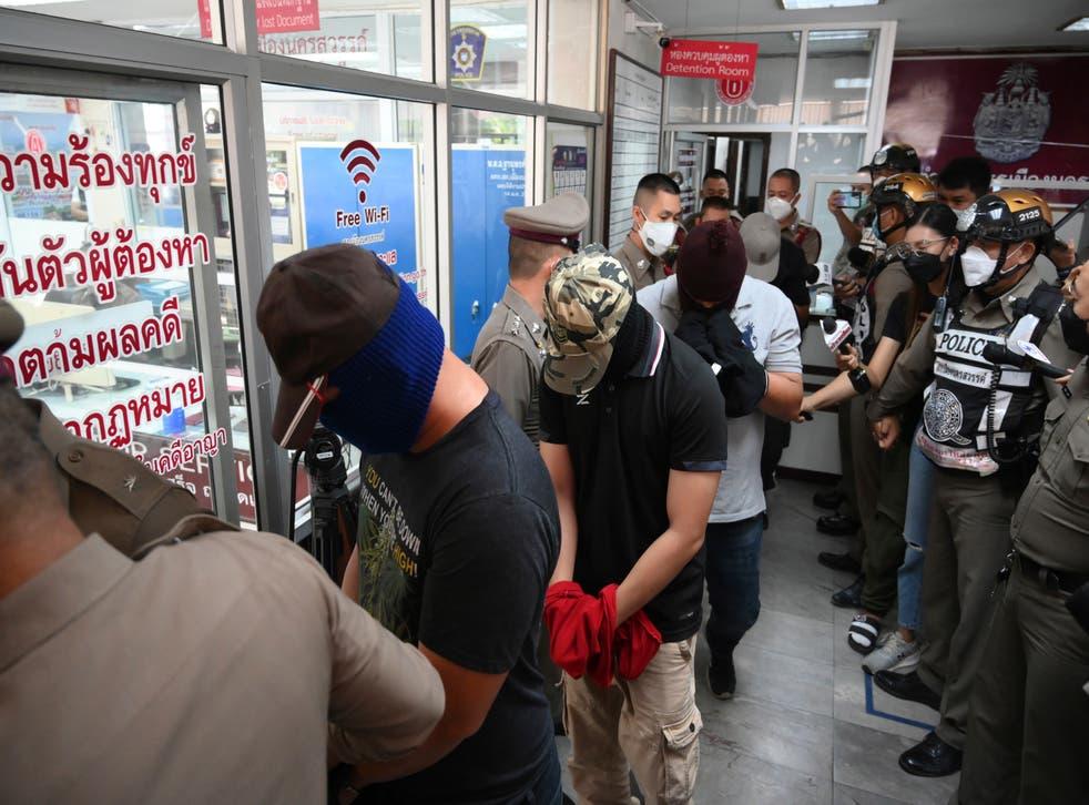 TAILANDIA-VIOLENCIA POLICIAL
