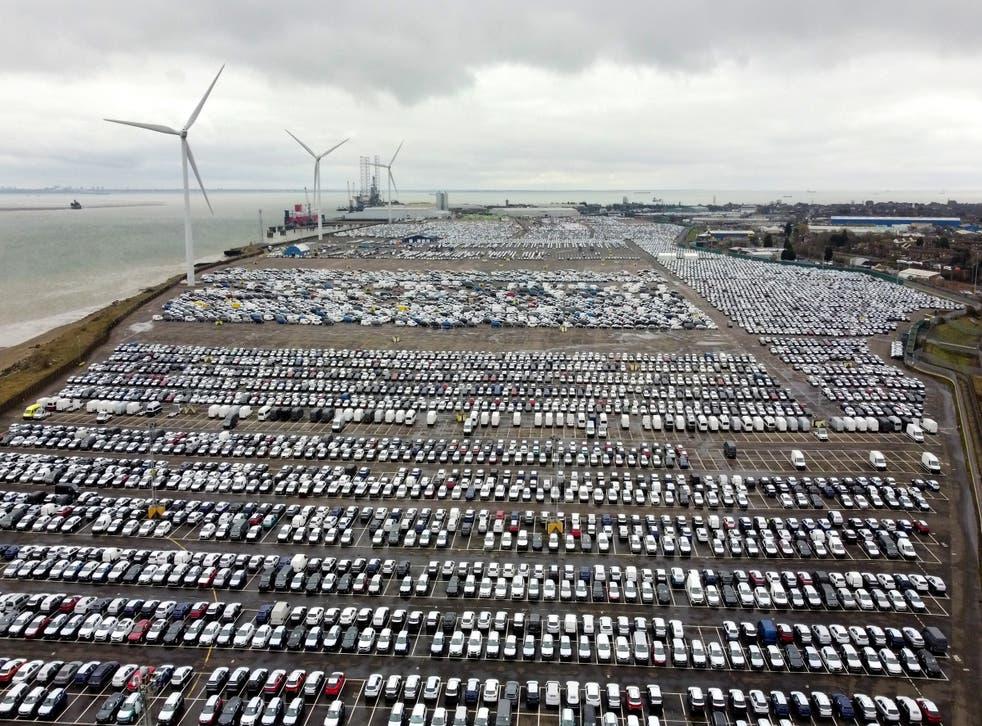 New cars (Gareth Fuller/PA)