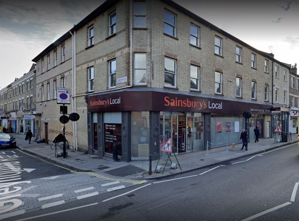 <p>This Sainsbury's on Fulham Palace Road was among the affected supermarkets</p>