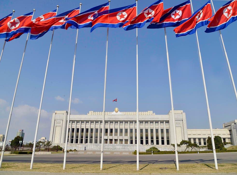 North Korea Parliament