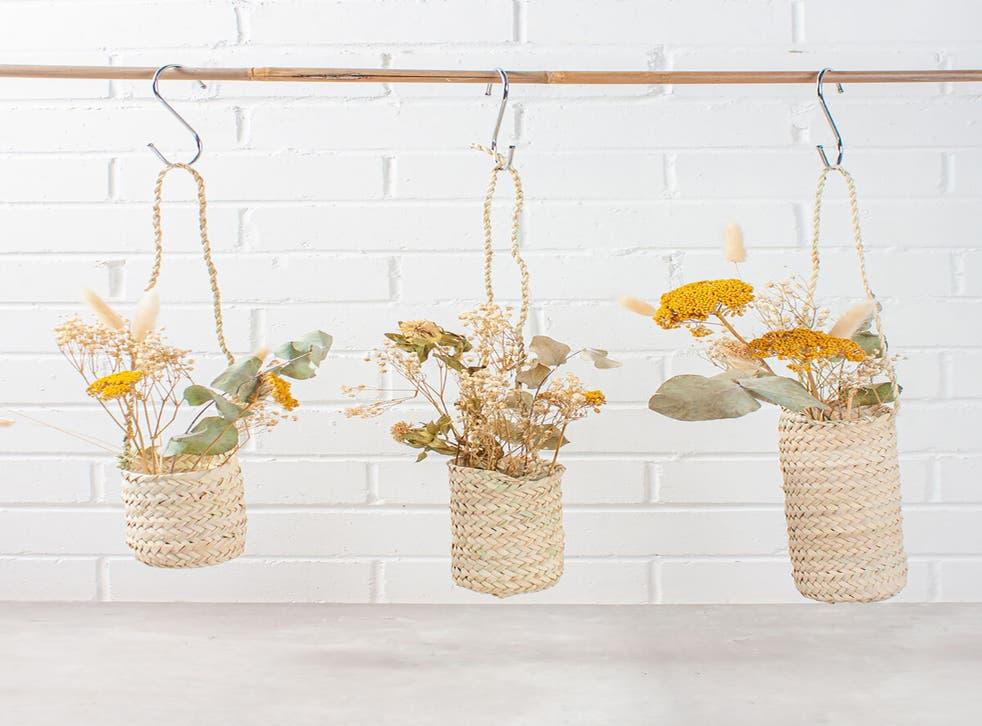 Slim Hanging Baskets, Bohemia Design. PA Photo/Bohemia Design (Bohemia Design/PA)