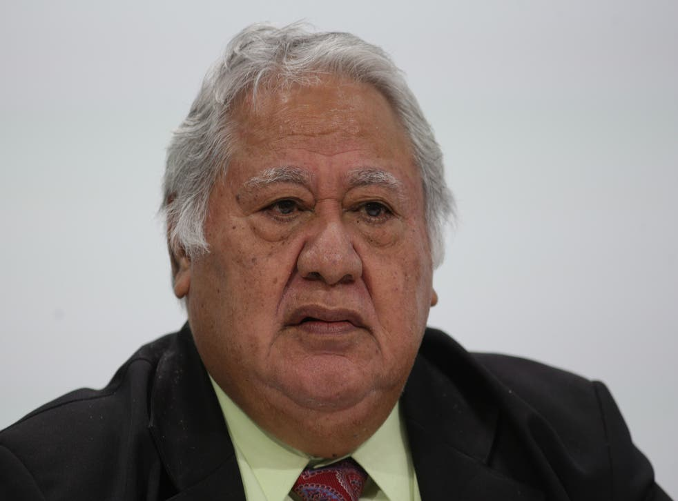<p>'I am starting to get suspicious maybe New Zealand is behind all of this,' said Samoa's former PM Tuilaepa Sa'ilele Malielegaoi </p>