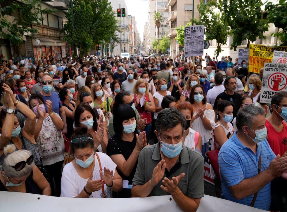 Virus Outberak Greece