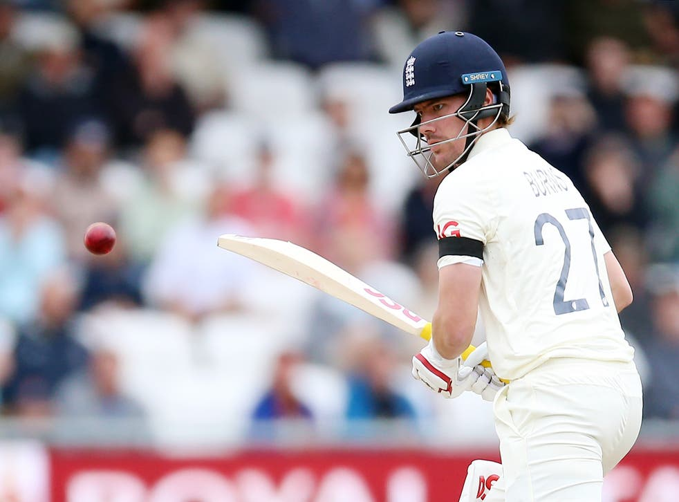Rory Burns was dismissed early on day two (Nigel French/PA)