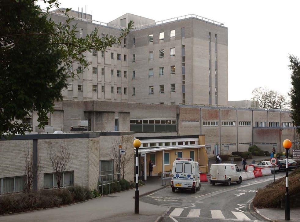 <p>Derriford Hospital </p>