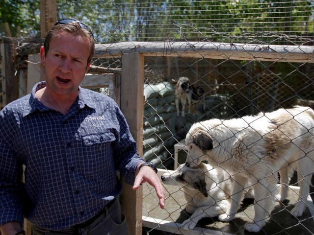 <p>Farthing says he is rescuing animals as well as people, not instead of </p>