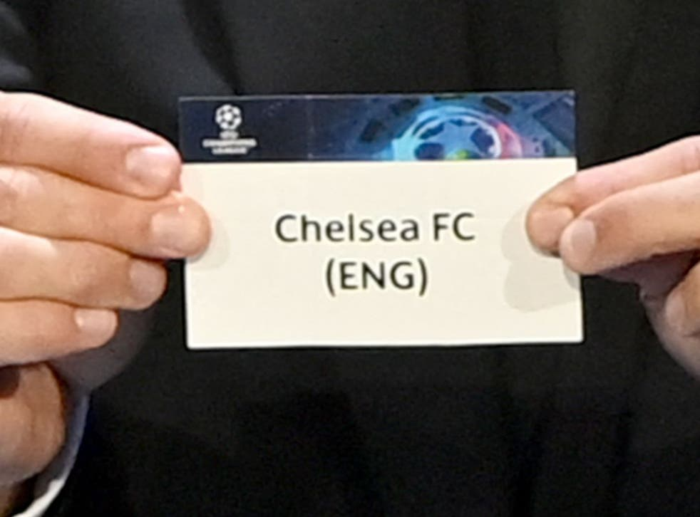 <p>Chelsea have been drawn in Group H </p>
