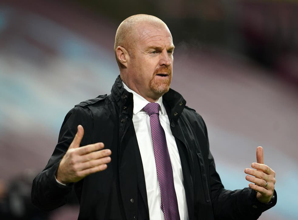 Burnley boss Sean Dyche has been happy with his side's performances this season despite starting the campaign with back-to-back defeats (Jon Super/PA)