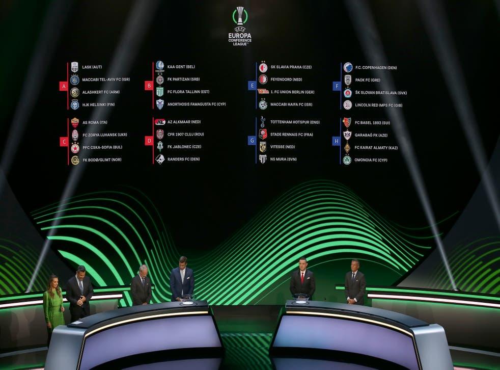 UEFA-TORNEOS SORTEOS