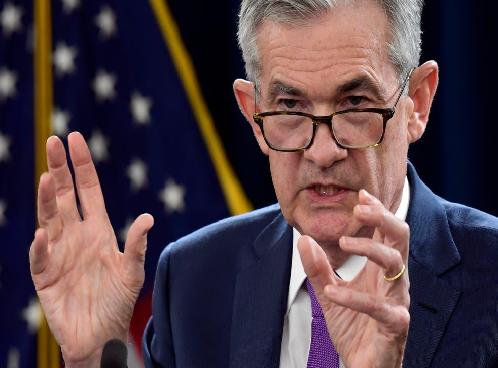 Jerome Powell reassured investors (Susan Walsh/AP)