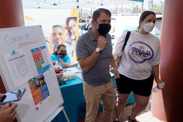 Virus Outbreak Arizona 1 Million Cases