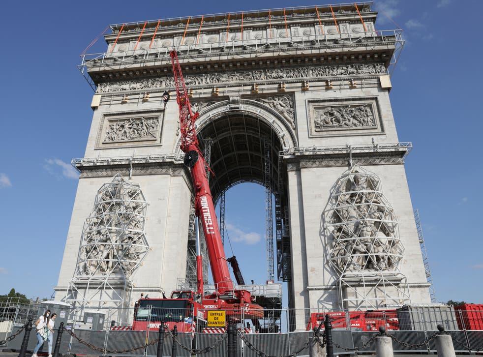 France Arc de Triomphe
