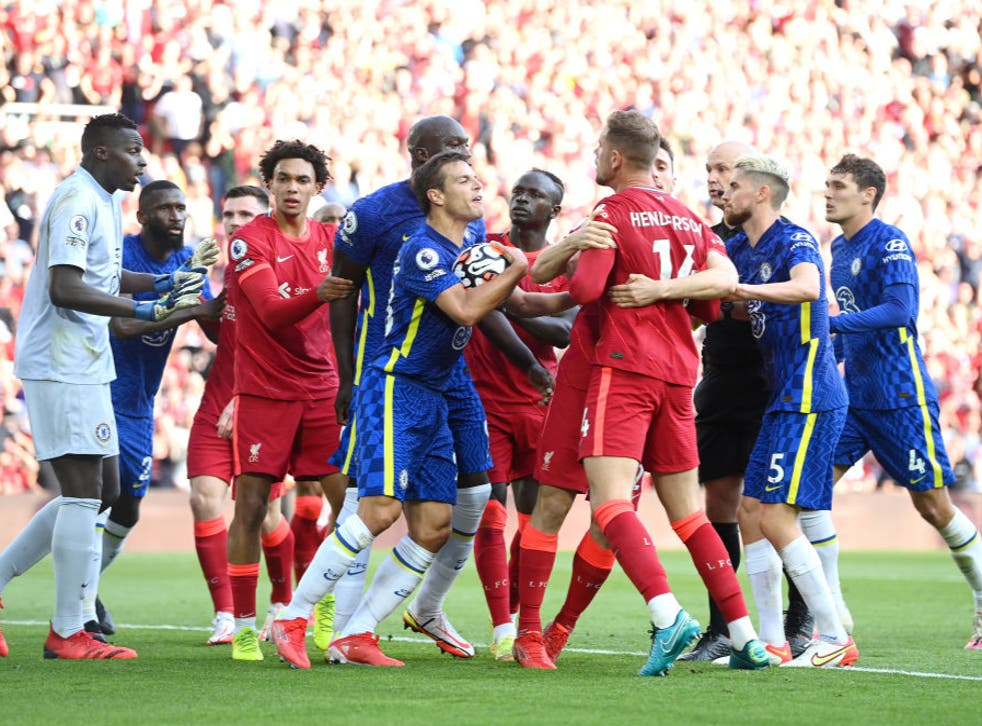 <p>Liverpool and Chelsea fought to an entertaining draw at Anfield </p>