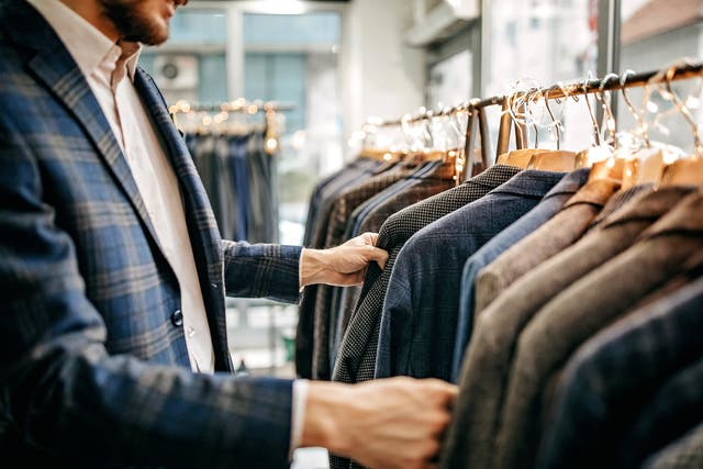 <p>Sales of formal wear in M&S stores has declined by 72% over the last year </p>
