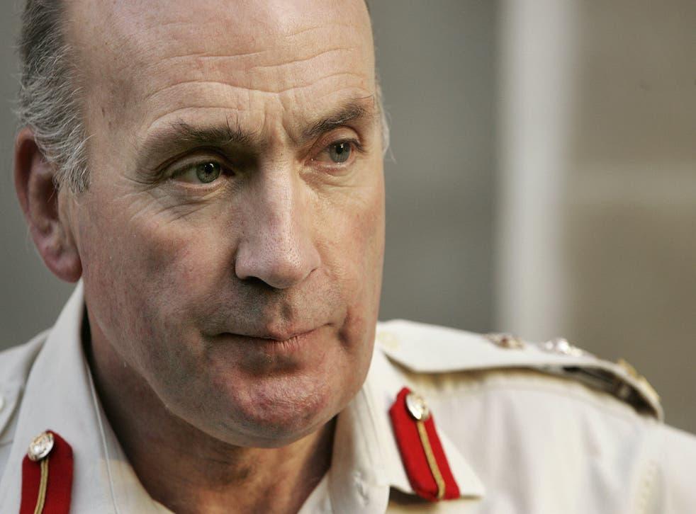 <p>Richard Dannatt in 2006 when he was chief of the general staff</p>
