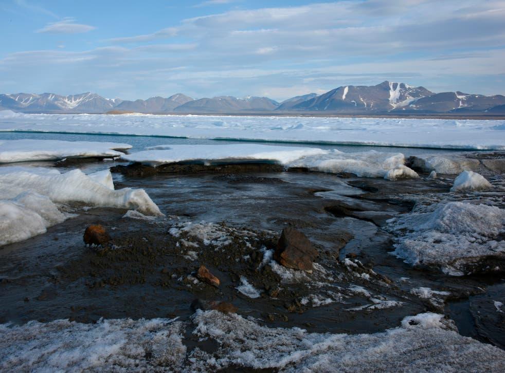 Denmark Greenland Arctic Island