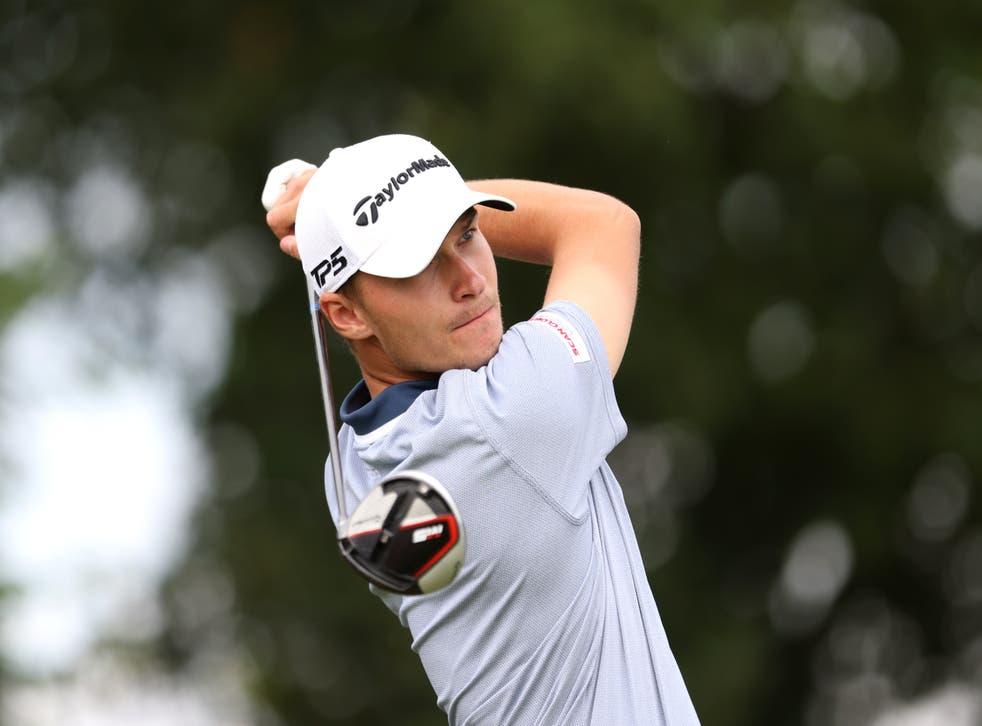 Rasmus Hojgaard won his third European Tour title in the Omega European Masters (Steven Paston/PA)