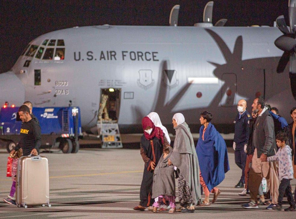 Kosovo Afghanistan Evacuees