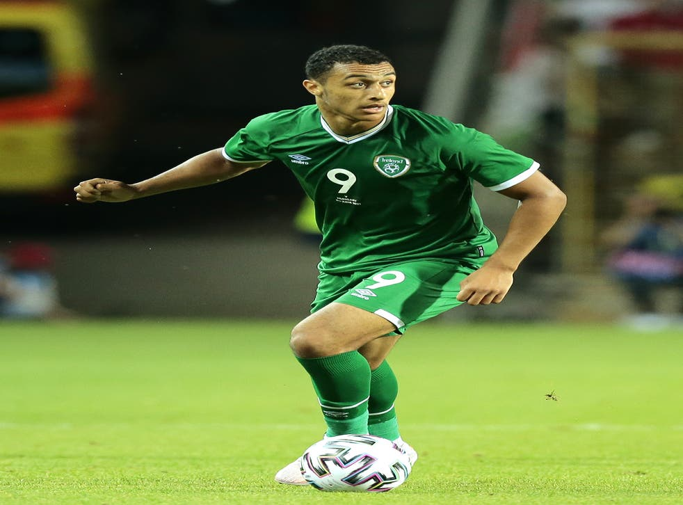 Republic of Ireland striker Adam Idah is relishing the prospect of a showdown with Portugal superstar Cristiano Ronaldo (Trenka Attila/PA)