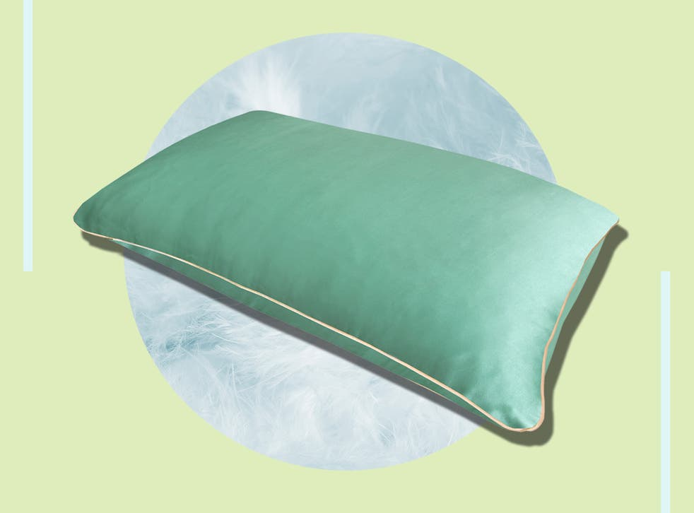 <p>Hypoallergenic and temperature controlling, silk bedding can also hydrate the skin and prevent frizzy bedhead  </p>