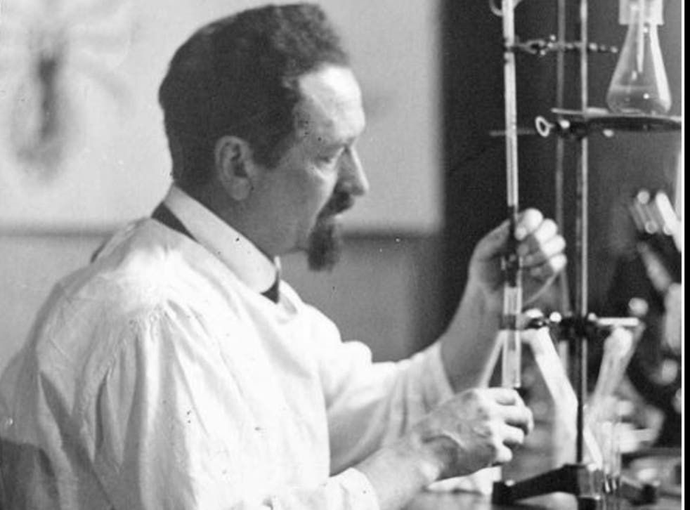 <p>Rudolf Weigl, the Polish researcher who helped stop the spread of typhus while sabotaging the Nazis during World War II. </p>