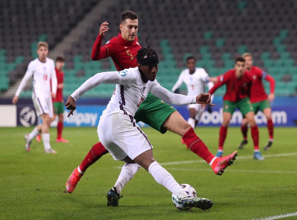 England Under-21s' Noni Madueke wants to emulate Ronaldo (Luka Stanzl/PA)