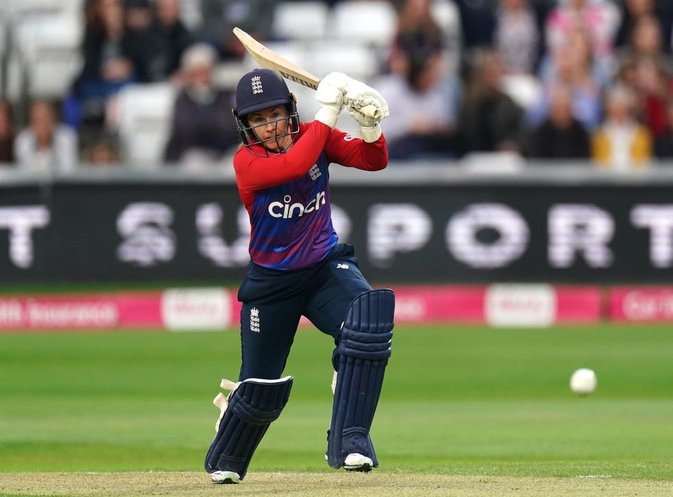 Tammy Beaumont hit 97 for England (Zac Goodwin/PA)