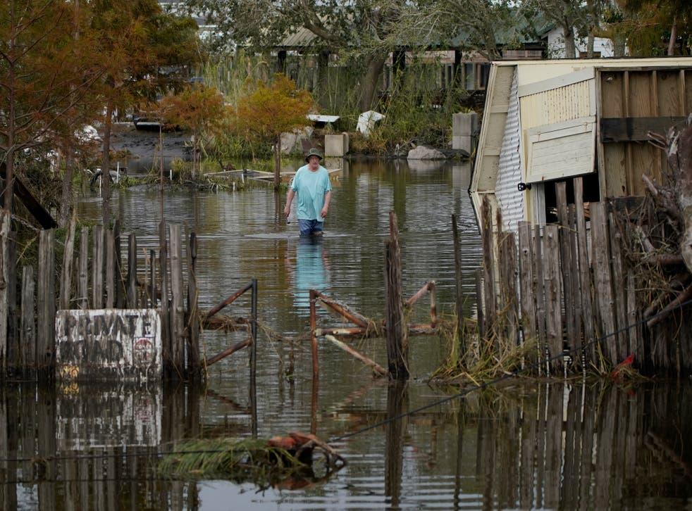 APTOPIX Hurricane Ida Louisiana