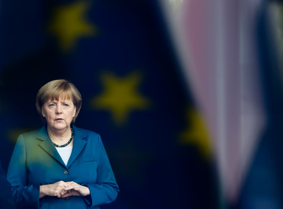 <p>Angela Merkel is stepping down as German leader at the country's forthcoming elections </p><p></p>