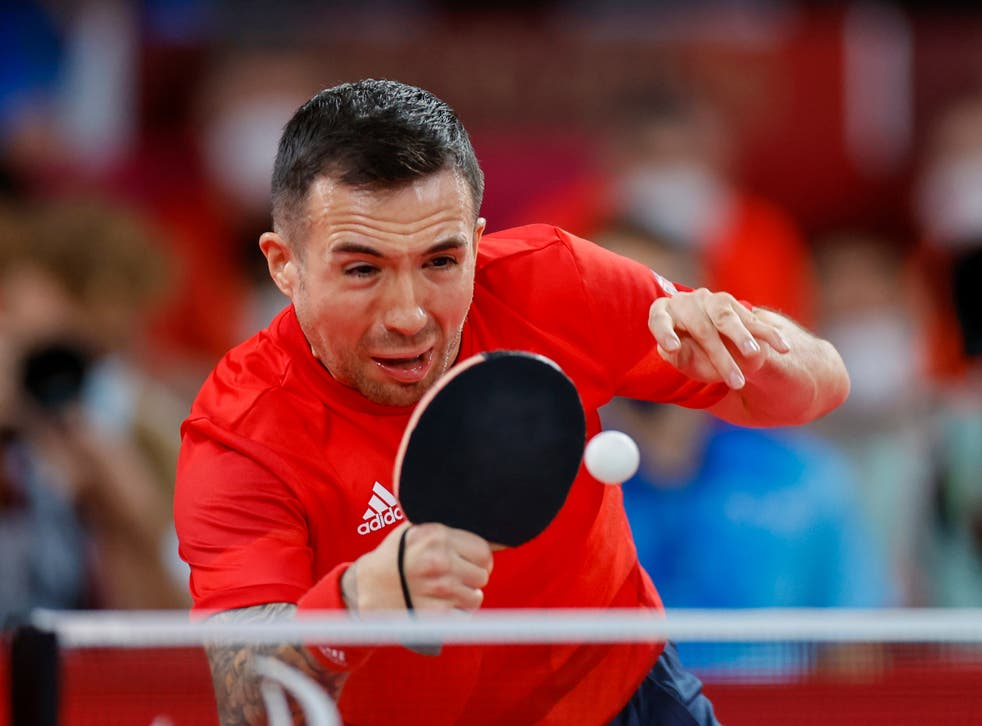 <p>World No1 Will Bayley in action for Britain in Tokyo</p>
