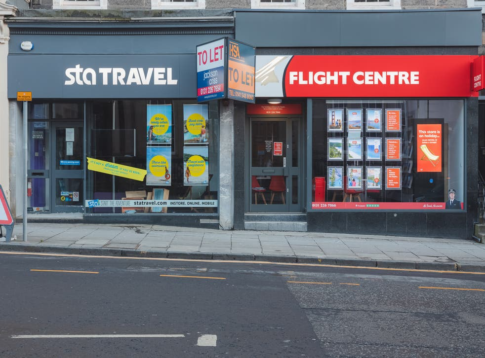 <p>Two rival Edinburgh travel agencies closed their doors in January due to the pandemic </p>