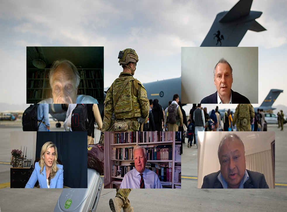 <p>The Independent's virtual panel event held on the current ongoing situation in Afghanistan </p>