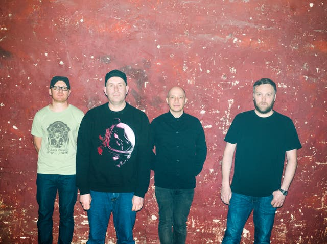 <p>Mogwai (Stuart Braithwaite third from left): 'If you can't do daft stuff when you're young, what's the point of being young?'</p>