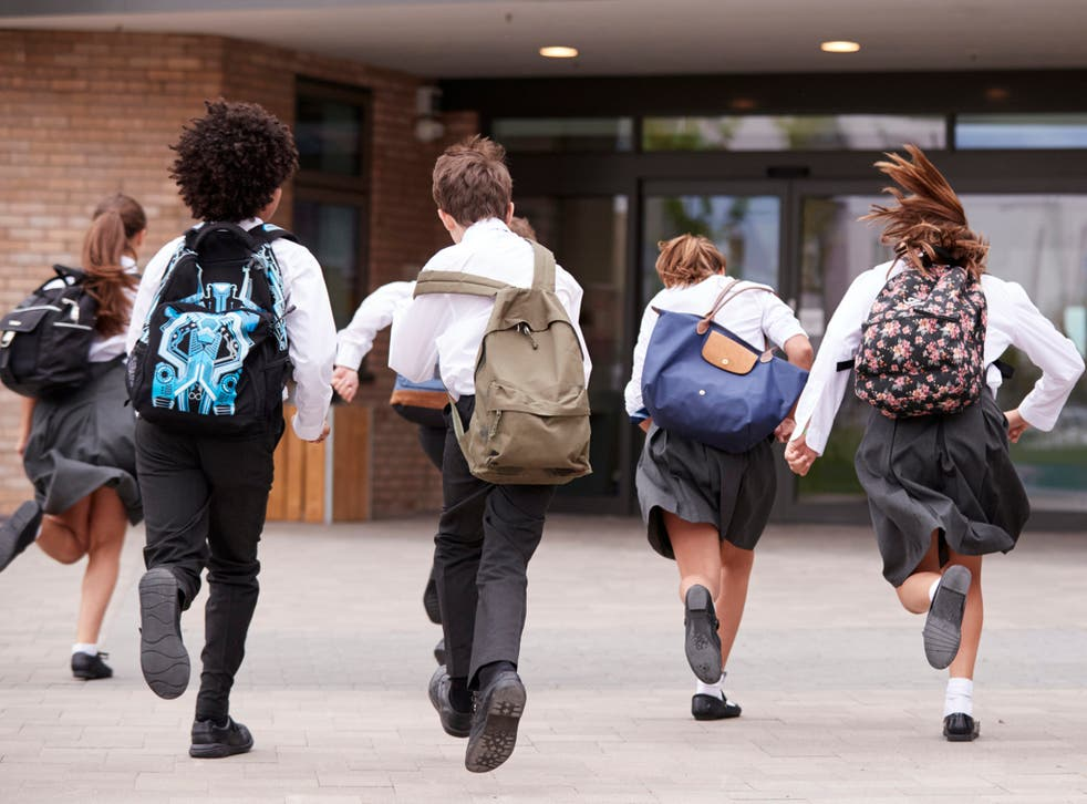 <p>Schools go back this week in England and Wales </p>