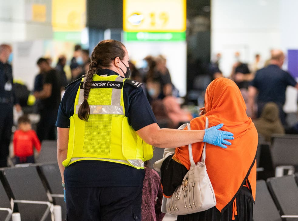 <p>The government launched 'Operation Warm Welcome' for Afghans now arriving in the UK, but others have been waiting for years for asylum decisions </p>