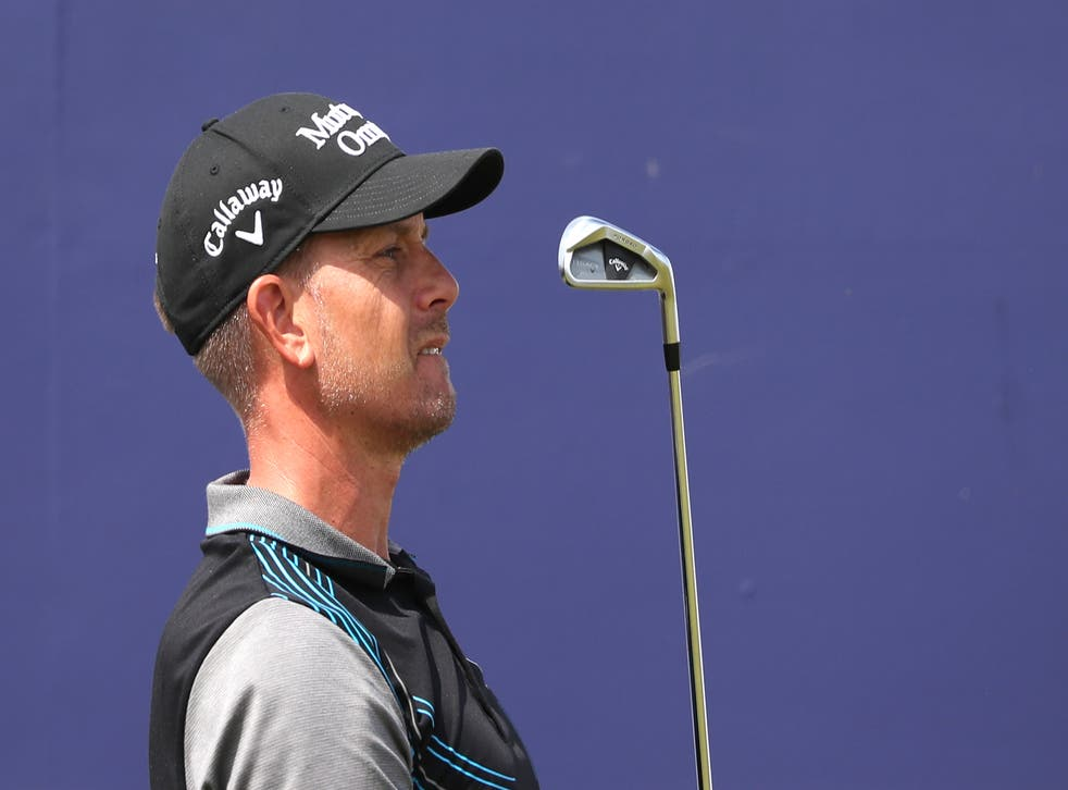 Henrik Stenson continued his strong recent form on day one of the Italian Open (Jane Barlow/PA)