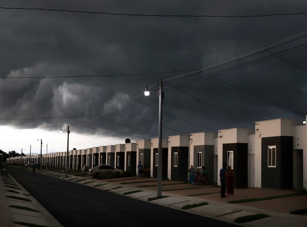 APTOPIX El Salvador After the Deluge