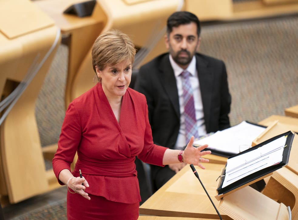 <p>First Minister Nicola Sturgeon announced on Wednesday plans for vaccine passports to be required for entry to nightclubs and many large events </p>