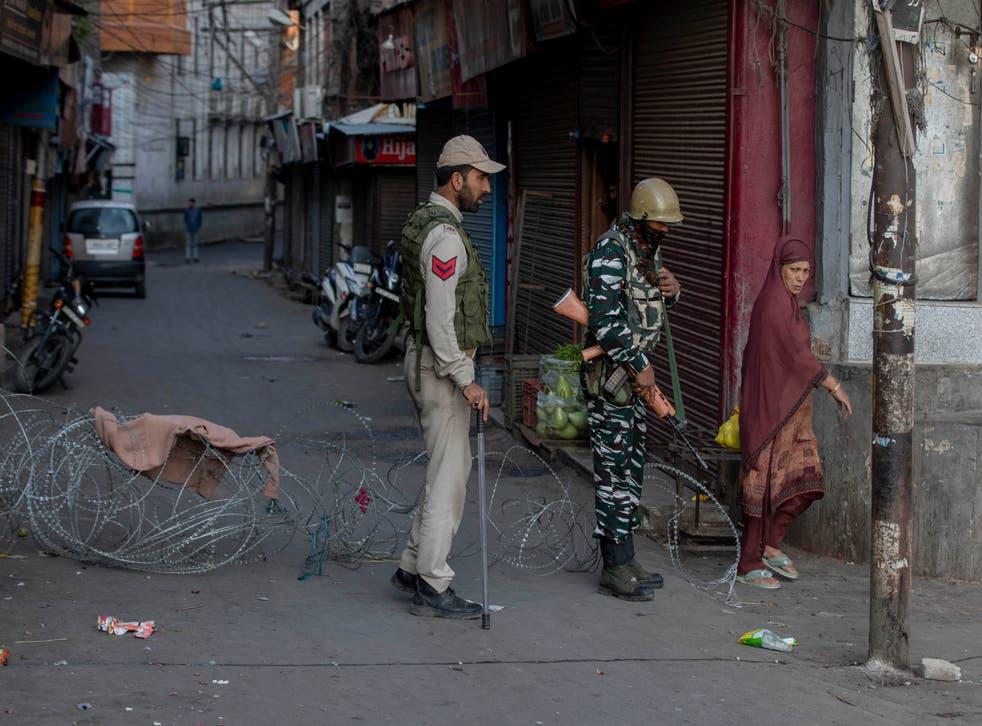 India Kashmir Geelani