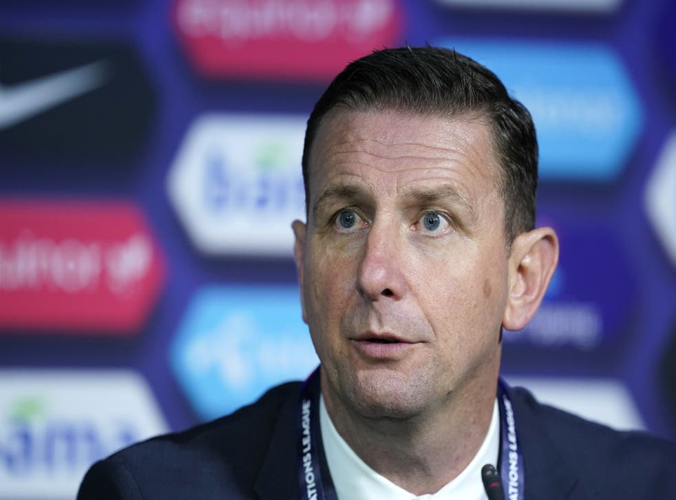 Ian Baraclough suggested he may add to his Northern Ireland squad for Sunday's friendly against Estonia (Fredrikh Hagen/PA)