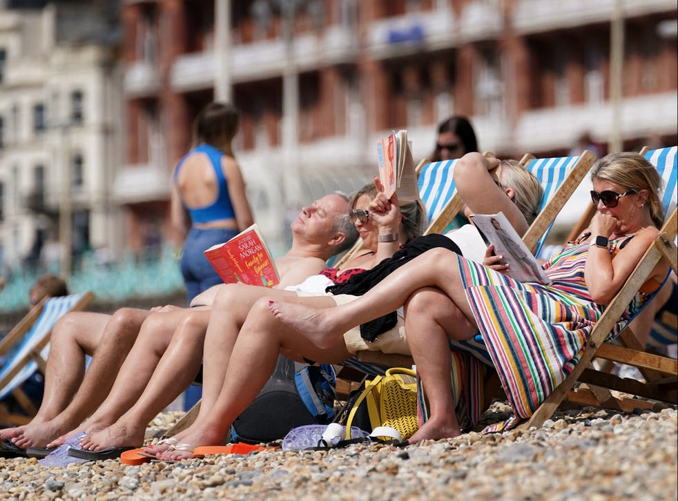 <p>August saw some pretty miserable weather, but next week's forecast could spark a rush to the beach </p>