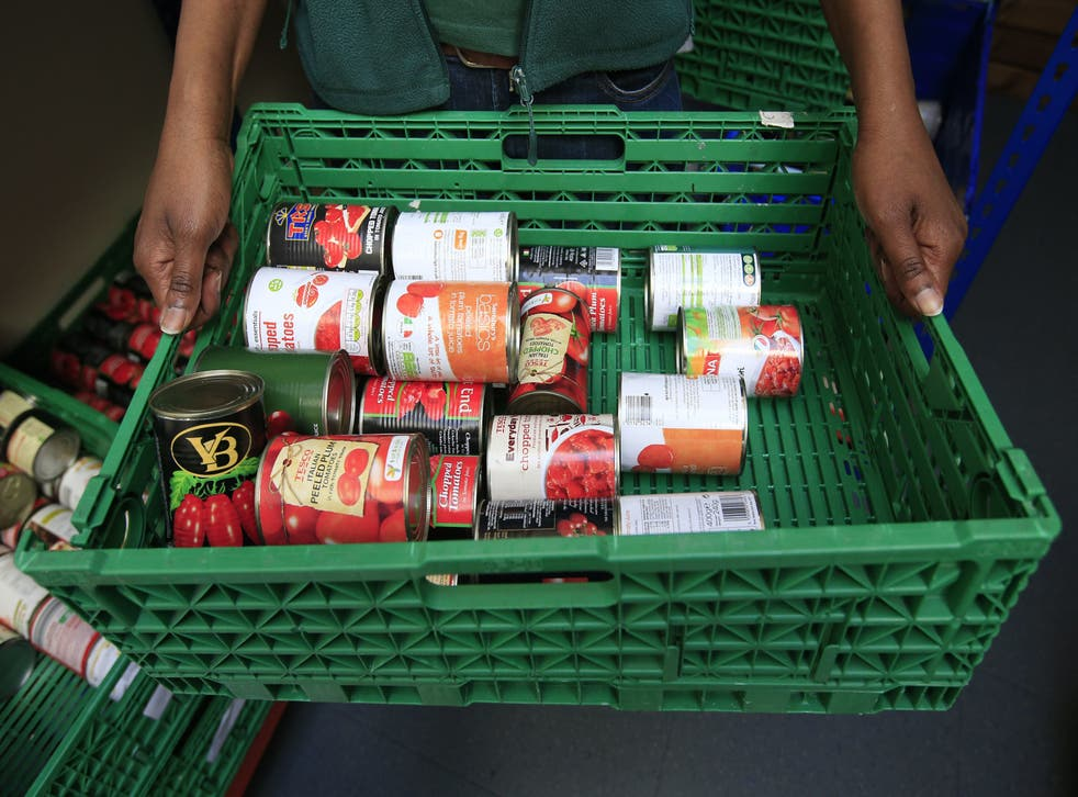 <p>Food bank use is set to rocket when the benefit top-up ends</p>