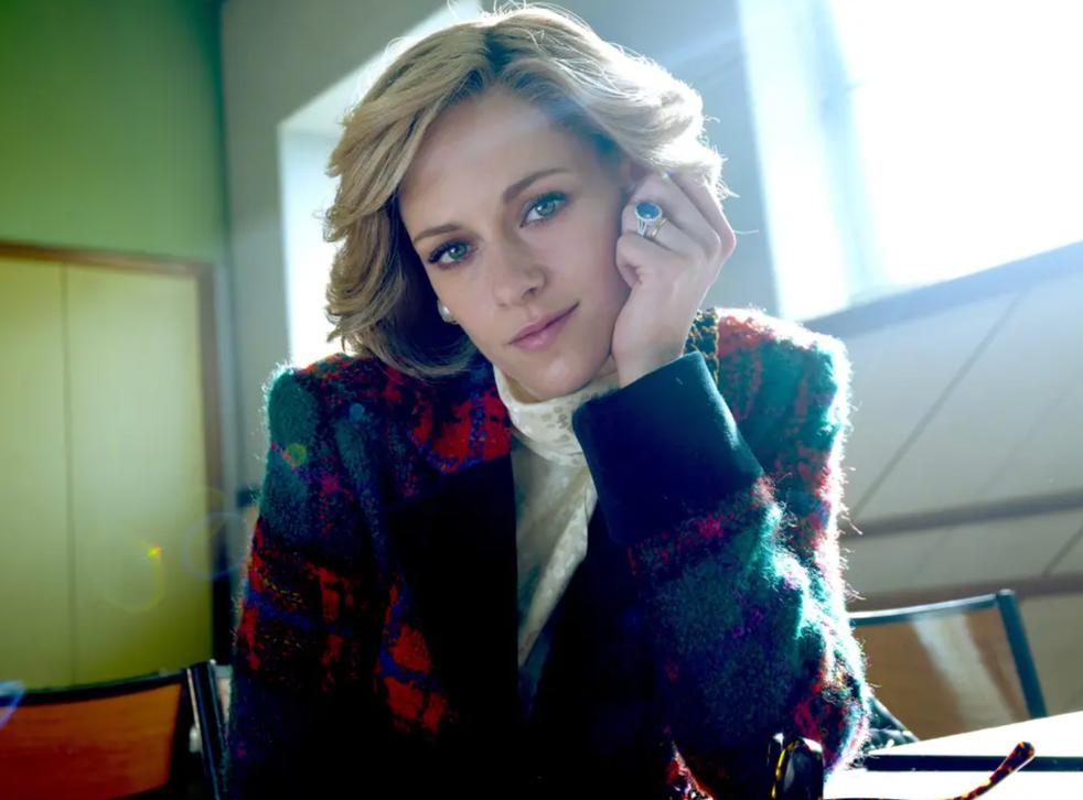 <p>Kristen Stewart as Princess Diana in 'Spencer'</p>