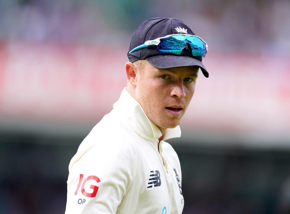 Ollie Pope fell 19 runs short of an Oval century (Adam Davy/PA)